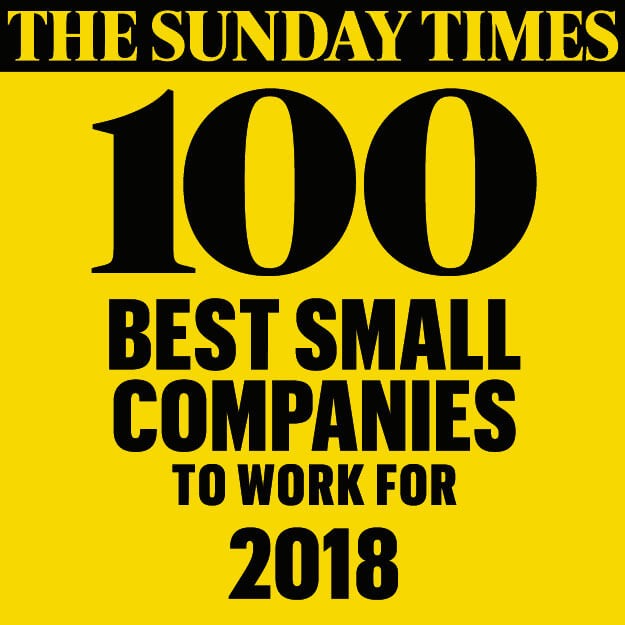 Best small companies 2018 logo