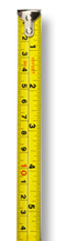illustration of a tapemeasure