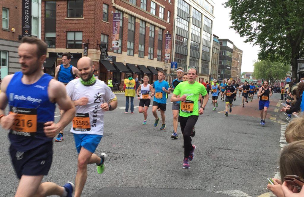 Stephen James running 10k