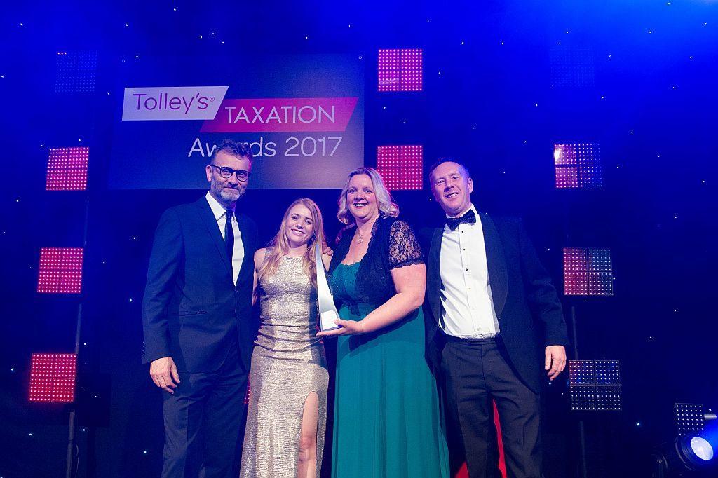 Lisa-Marie Smith wins Taxation's rising star award