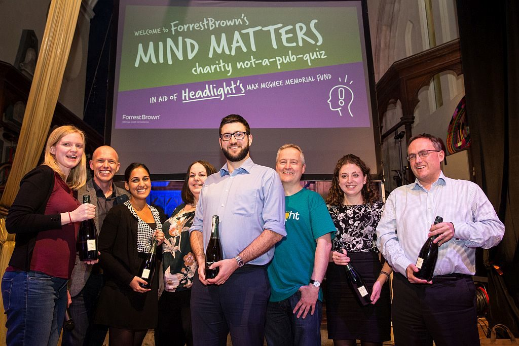 Gregg Latchams charity quiz winners
