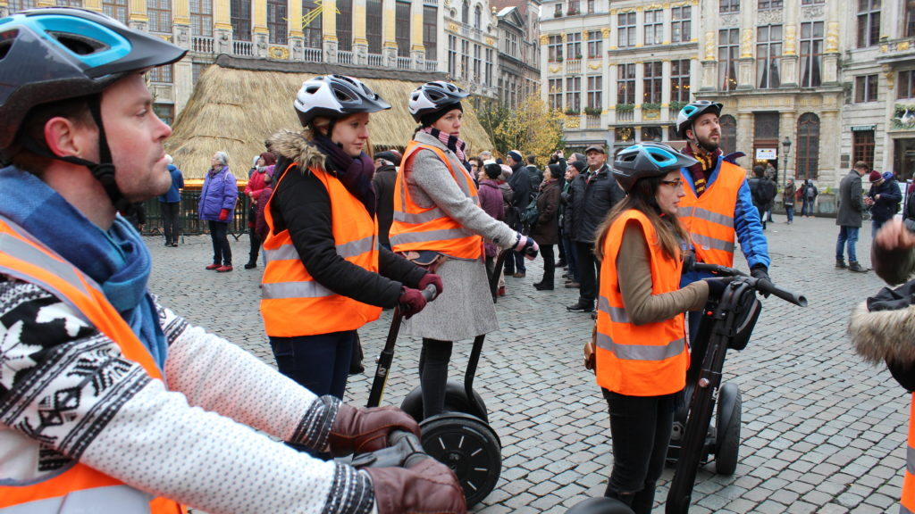 Segway tour of Brussels