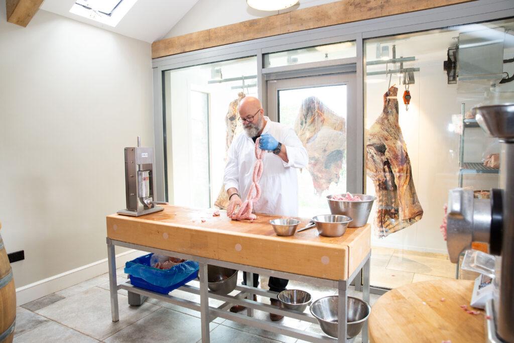 Butchery course at Belmont Estate