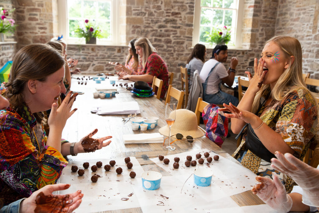 Chocolate making